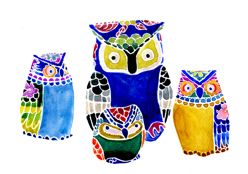 jessica-findley-illustration-owls