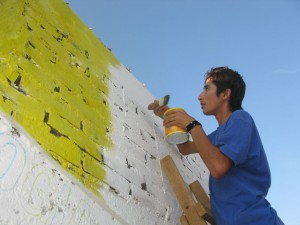 Painting the Mural