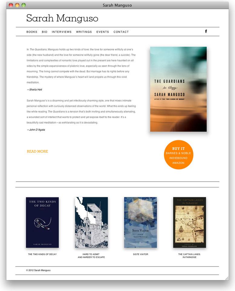 Sarah Manguso Website
