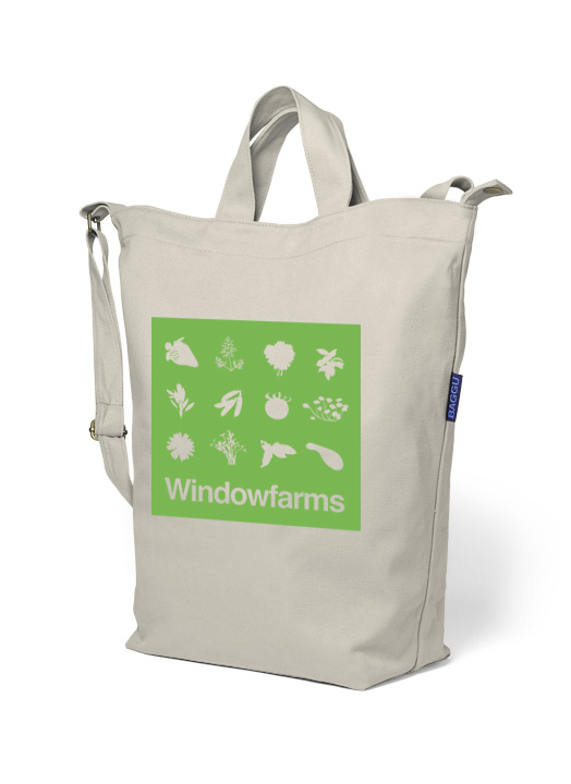 Window Farms Bag Art