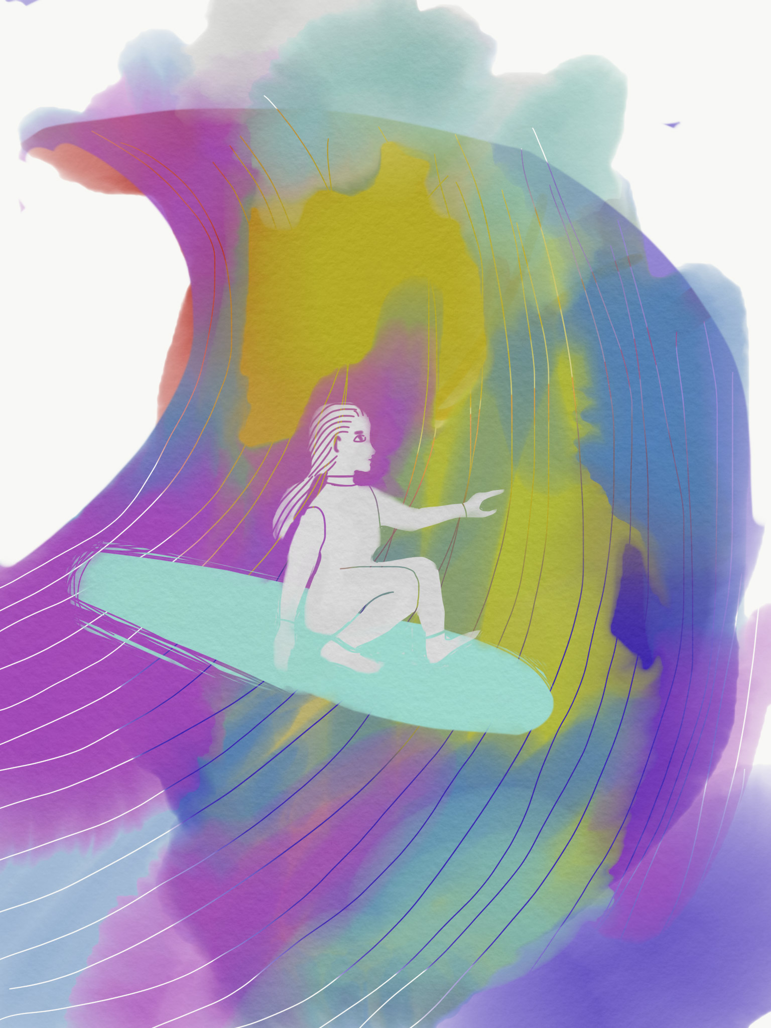Yasmina Dedijer Small Surfing